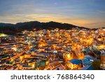 gamcheon culture village at...   Shutterstock . vector #768864340