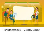 illustration of group of... | Shutterstock . vector #768872800