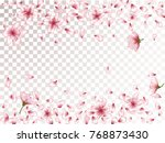 oriental apricot or japanese... | Shutterstock .eps vector #768873430