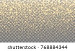 gold sparkles on the... | Shutterstock .eps vector #768884344