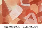 abstract unusual background out ... | Shutterstock .eps vector #768895204