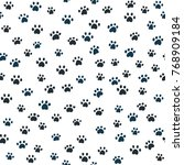 vector seamless pattern with... | Shutterstock .eps vector #768909184