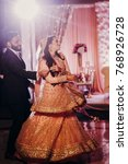 indian groom in classy western... | Shutterstock . vector #768926728