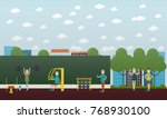 vector illustration of of... | Shutterstock .eps vector #768930100