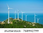 Wind Turbines In The Mountains...