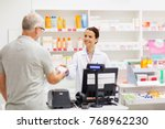 medicine  pharmaceutics  health ... | Shutterstock . vector #768962230
