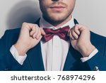 close up portrait   bearded man ... | Shutterstock . vector #768974296