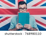 english language learning... | Shutterstock . vector #768980110