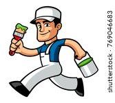 vector illustration of a... | Shutterstock .eps vector #769046683