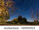 when the earth rotates for 9000 ... | Shutterstock . vector #769055923