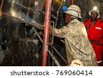 chrome and platinum mine  north ... | Shutterstock . vector #769060414