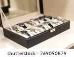 collection of  ladies wrist...   Shutterstock . vector #769090879