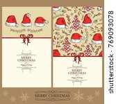 collection of christmas and new ...   Shutterstock .eps vector #769093078