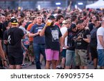 madrid   jun 22  people in a... | Shutterstock . vector #769095754