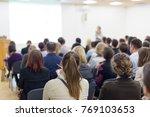 business and entrepreneurship... | Shutterstock . vector #769103653