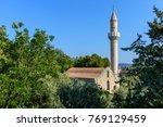 old mosque  | Shutterstock . vector #769129459