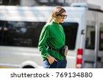 milan  italy   september 21 ... | Shutterstock . vector #769134880
