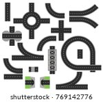 collection of isolated... | Shutterstock .eps vector #769142776