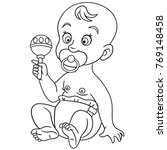 coloring pages for kids. design ...   Shutterstock .eps vector #769148458