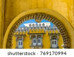 colourful building in sintra ... | Shutterstock . vector #769170994