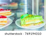 Pistachio Dessert In The Fridg...