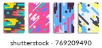 modern style banners collection. | Shutterstock .eps vector #769209490