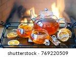 Orange Tea With Christmas Bread