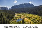 view to bolboci lake from the... | Shutterstock . vector #769237936