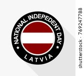 national indepedent day of... | Shutterstock .eps vector #769247788