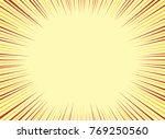 comic book background ...   Shutterstock .eps vector #769250560