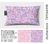 design vector pillow  cushion . ...   Shutterstock .eps vector #769266448