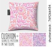 design vector pillow  cushion . ...   Shutterstock .eps vector #769266454
