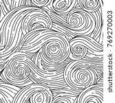 seamless vector pattern. van... | Shutterstock .eps vector #769270003