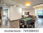 table football in modern living ... | Shutterstock . vector #769288453