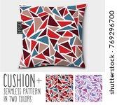 design vector pillow  cushion ....   Shutterstock .eps vector #769296700