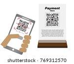 vector design payment   online...   Shutterstock .eps vector #769312570