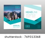 annual report brochure layout... | Shutterstock .eps vector #769313368