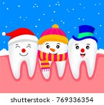 snow tooth character design... | Shutterstock .eps vector #769336354
