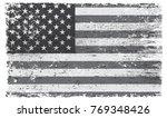 grunge american flag.vintage... | Shutterstock .eps vector #769348426