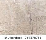 grungy cement wall background... | Shutterstock . vector #769378756