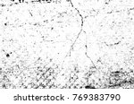 grunge black and white pattern. ... | Shutterstock . vector #769383790