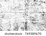 grunge black and white pattern. ... | Shutterstock . vector #769389670