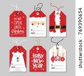 Christmas Gift Tags Set With...