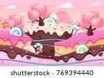 candy land image illustration... | Shutterstock .eps vector #769394440