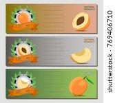 abstract vector icon... | Shutterstock .eps vector #769406710