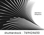 abstract creative geometric... | Shutterstock .eps vector #769424650
