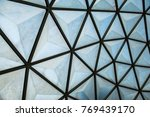 greenhouse roof design pattern... | Shutterstock . vector #769439170