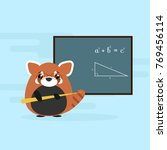 anthropomorphic red panda  ...   Shutterstock .eps vector #769456114