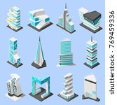 isometric futuristic... | Shutterstock .eps vector #769459336