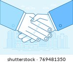 vector illustration in trendy... | Shutterstock .eps vector #769481350